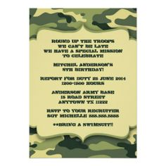 cheap army birthday party supplies