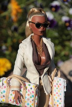 New Black Barbie Doll, now where's the Asian one? ★ louis vuitton http://www.buylouisvuittonofficial.com/