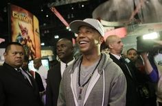 """Russell Simmons Playing Def Jam Rapstar - E3 Expo 2010 - Funk Gumbo Radio: http://www.live365.com/stations/sirhobson and """"Like"""" us at: https://www.facebook.com/FUNKGUMBORADIO"""