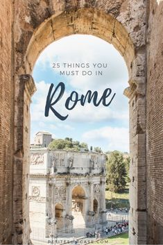 25 Things You Must Do In Rome, Italy - Petite Suitcase 25 Things you must do in. 25 Things You Must Do In Rome, Italy – Petite Suitcase 25 Things you must do in Rome, Italy Italy Travel Tips, Rome Travel, Travel Abroad, Travel Europe, Travel Packing, Travel Trip, Travel Goals, Travel Plane, Packing Hacks