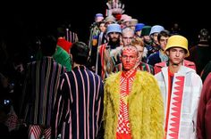 Walter Van Beirendonck Men's A/W '14. Paris Fashion Week