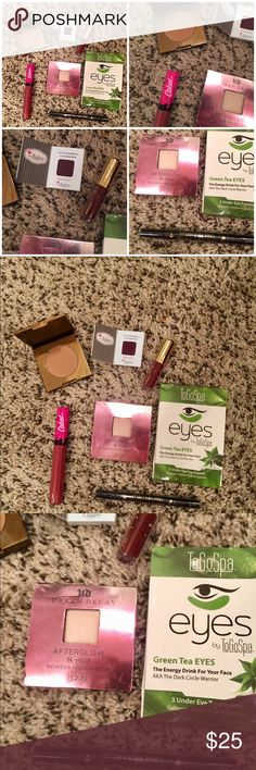 I just added this listing on Poshmark: Make up lot. Brand new never opened high end. #shopmycloset #poshmark #fashion #shopping #style #forsale #tarte #Other
