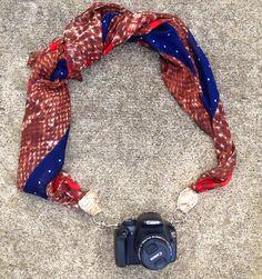 DIY Scarf Strap // Swell blog @Sarah Chintomby Ramey