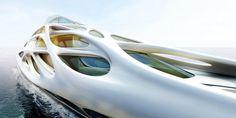 Tour Zaha Hadid's Dazzling Superyachts