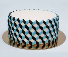 If It's Hip, It's Here: When You Hunger For Modern Design. Baked Goods Almost Too Beautiful To Eat.