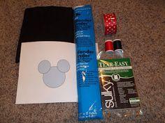 Minnie Mouse applique tutorial.