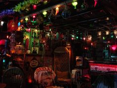 Tiki bar lounge