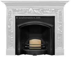 Victorian design circa 1880 HIGHLIGHT finish Suitable for electric, gas or solid fuel option Flue type class 1 & 2 FREE delivery Online Sale Price: Cast Iron Fireplace Insert, Fireplace Inserts, Victorian Design, Free Delivery, Highlight, Electric, London, Type, House