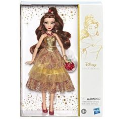Disney Princess Style Series – Belle Doll in Contemporary Style with Purse & Shoes - Modern Disney Princess Belle, Princesses Disney Belle, Princess Style, Mulan Doll, Ariel Doll, Disney Dolls, Barbie Dolls, Funko Pop, Belle