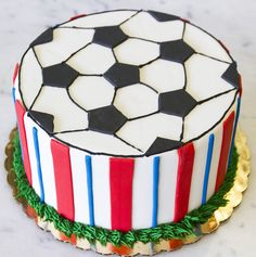 Soccer inspired cake - cake #039. Sports Themed Cakes, Soccer Motivation, Soccer Training, Inspired, Inspiration, Soccer Coaching, Biblical Inspiration, Football Motivation, Soccer Drills