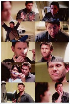 Lucifer from Supernatural, in the shape of Mark Pellegrino.
