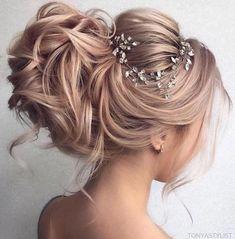 hignon capelli sposa biondo rosa