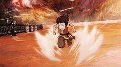 Korra vs. Kuvira (gif) | The Legend of Korra Book 4: Balance | Avatar TLOK