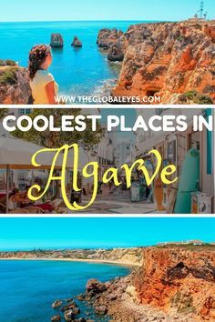 Best things to do in Algarve Portugal in the coolest places in the area! Find out where you can find the best grottos, beaches, caves and food in Algarve. Portugal Algarve I Lagos I Portugal Travel