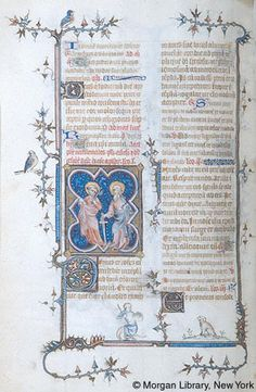Breviary, MS M.75 fol. 444v - Images from Medieval and Renaissance Manuscripts - The Morgan Library & Museum