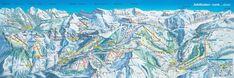 2017 ADELBODEN-LENK Switzerland - Ski Map