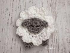 L is for Lamb: Crochet Lamb Applique | Repeat Crafter Me | Bloglovin'