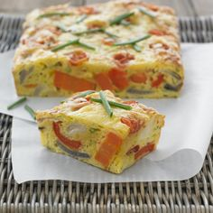 Collect this Vegetable Slice recipe by Everyday Delicious Kitchen. MYFOODBOOK.COM.AU | MAKE FREE COOKBOOKS