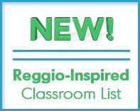 Reggio-Inspired Classroom List