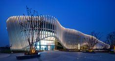 Parametric Architecture, Museum Architecture, Parametric Design, Futuristic Architecture, Amazing Architecture, Architecture Design, Acoustic Architecture, Architecture Awards, Building Facade