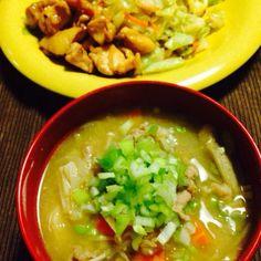 2014 10 7 - 21件のもぐもぐ - 豚汁 野菜炒め by kaoriyma
