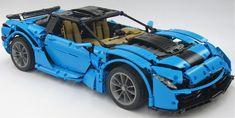 2019 Alucard GT by Crowkillers Lego Racers, Lego Display, Lego Construction, Lego News, Alucard, Lego Models, Mini Things, Lego Moc, Lego Technic
