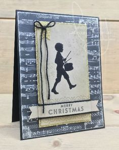 Lil Drummer Boy | Stampin\' Up! | Awesomely Artistic | Flurry of Wishes | Musical Season #literallymyjoy #littledrummerboy #music #musicalnotes #Christmas #holiday #vintage #MerryMusicDSP #2017HolidayCatalog #20172018AnnualCatalog