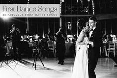 Top 40 First Dance Wedding Songs