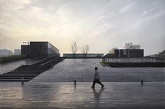 Chengdu High-tech District Tianfu Software Park Communication Centre / Jiakun Architects