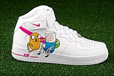 bb44f4d681c9 Adventure time custom air force one