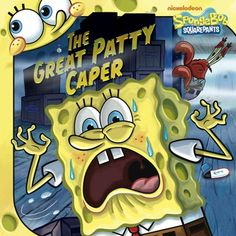 The Great Patty Caper (SpongeBob SquarePants) @ niftywarehouse.com #NiftyWarehouse #Geek #Fun #Entertainment #Products