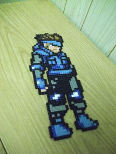 Metal Gear Solid Snake wall deco by beadstoterabithia on Etsy, €3.50