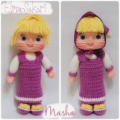 Knitting is love: Amigurumi Masha and the Bear Free Pattern