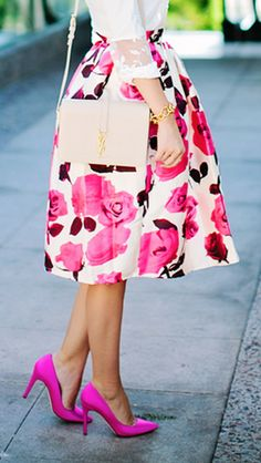 glam rose print a-line midi skirt  http://rstyle.me/n/pkrcgpdpe