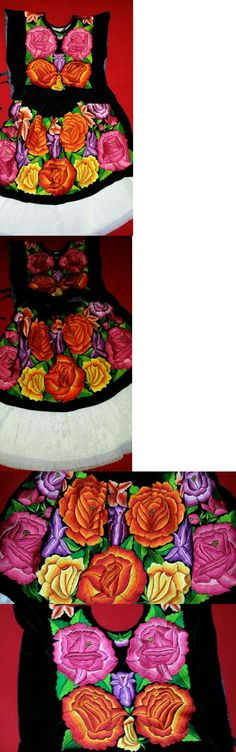 Latin America 155252: New Tehuana Huipil Blouse And Nagua, -> BUY IT NOW ONLY: $310 on eBay!