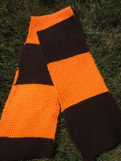 Cleveland Browns Scarf by MadisonScarves on Etsy, $25.00