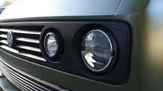 LED headlights on the Das Mule Vanagon Syncro