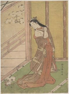 ... , Design, Thoughtful Stuff like That: Images of Women in Edo Period