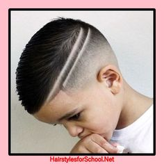 Check out latest haircut designs for every hair type. See Eyebrow Cut and Shaved head designs with pictures and try that right now Boy Haircuts Short, Little Boy Haircuts, Hairstyles Haircuts, Haircuts For Men, Haircut Short, Children Haircuts, Boys Haircuts 2018, Kids Hairstyles Boys, Cool Boys Haircuts