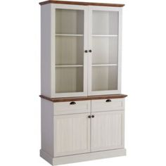 buy living addington display cabinet   antique white and brown at argos co uk   your online shop for display units and glass cabinets  buy living addington display cabinet   antique white and brown at      rh   pinterest co uk