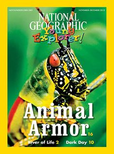 National Geographic Young Explorer (Student Magazine) - September 2012