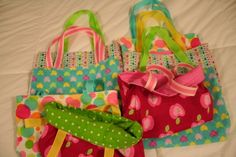 Party Favor Tote Bags