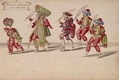 Grand Ballet de la douairière de Billebahaut 1626: Entrée de Mahomet et de ses Docteurs - Daniel Rabel