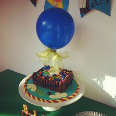 Hot air Balloon cake for my 2 yr old boy