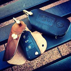 Leather Key case for electronic key