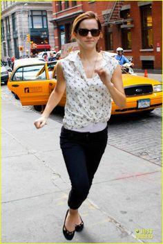Emma Watson in NYC (Sept. 14)