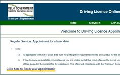 When considering an application for getting a driving licence in Delhi, which is the capital within the union of India and has also been designated as a union territory you cannot expect to be treated differently and will be required to follow the procedures as mentioned by the Transport