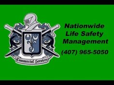 Nationwide Life Safety Management Florida (407) 965-5050 Commercial Services is the must have SOLUTION for all your Fire Protection and Life Safety Needs. Do...