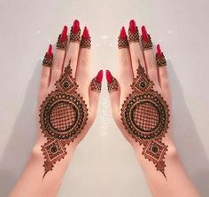 Mehndi henna designs are always searchable by Pakistani women and girls. Women, girls and also kids apply henna on their hands, feet and also on neck to look more gorgeous and traditional. Back Hand Mehndi Designs, Mehndi Designs Book, Mehndi Designs 2018, Modern Mehndi Designs, Mehndi Designs For Beginners, Mehndi Designs For Girls, Wedding Mehndi Designs, Mehndi Designs For Fingers, Dulhan Mehndi Designs