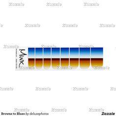 Browns to Blues Minx® Nail Art